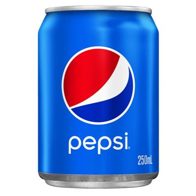 Image for PEPSI CAN 250ML CARTON 24 from OFFICE NATIONAL CANNING VALE, OFFICE TOOLS OPD & OMNIPLUS
