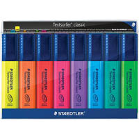 STAEDTLER TEXTSURFER CLASSIC HIGHLIGHTER WALLET 8