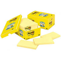 POST-IT 655-18CP NOTES CANARY YELLOW 76 X 127MM CABINET PACK 18