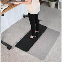 JASTEK SIT STAND CHAIRMAT RECTANGLE 1140 X 1340MM
