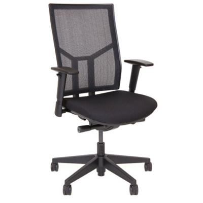 Image for BURO ENDURA II CHAIR WITH MESH BACK AND SLIDING SEAT BLACK from OFFICE NATIONAL CANNING VALE, OFFICE TOOLS OPD & OMNIPLUS