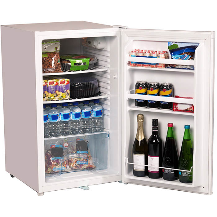 Image for NERO BAR FRIDGE 116L WHITE from OFFICE NATIONAL CANNING VALE, OFFICE TOOLS OPD & OMNIPLUS