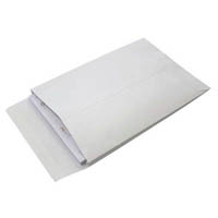 CUMBERLAND ENVELOPE EXPANDABLE STRIP SEAL PLAIN 245 X 162MM WHITE PACK 25