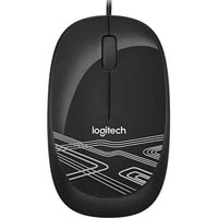 LOGITECH M105 WIRED MOUSE BLACK