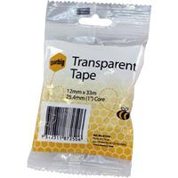 MARBIG OFFICE TAPE 12MM X 33M 25.4MM CORE