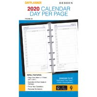 DEBDEN 2020 DAYPLANNER PERSONAL EDITION REFILL DAY TO PAGE