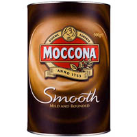 MOCCONA SMOOTH INSTANT COFFEE 500G CAN