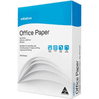 INITIATIVE A4 OFFICE COPY PAPER 80GSM WHITE PACK 500 SHEETS