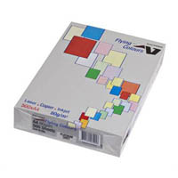 FLYING COLOURS COLOURED COPY PAPER A4 80GSM PLATINUM GREY PACK 500