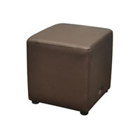 DURASEAT OTTOMAN CUBE CHOCOLATE