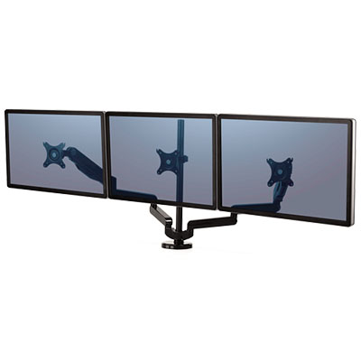 Image for FELLOWES PLATINUM SERIES MONITOR ARM TRIPLE from SBA Office National