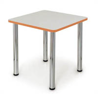 QUORUM GEOMETRY MEETING TABLE SQUARE 750 X 750MM