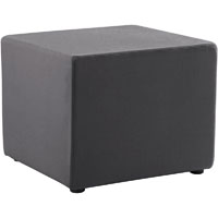RAPIDLINE MARS SQUARE OTTOMAN CHARCOAL