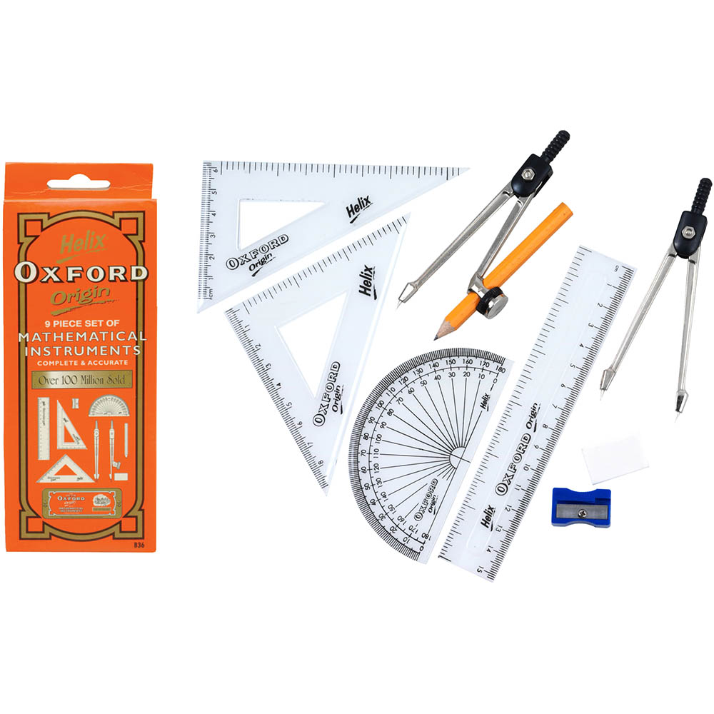 Compasses and Maths Sets