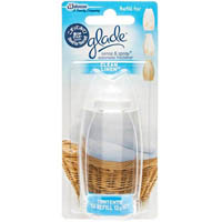 GLADE SENSE AND SPRAY CLEAN LINEN REFILL 12G
