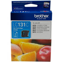 BROTHER LC131C INK CARTRIDGE CYAN