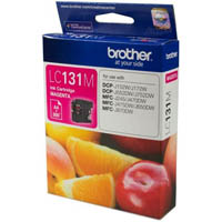 BROTHER LC131M INK CARTRIDGE MAGENTA