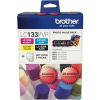 BROTHER LC-133 PHOTO VALUE PACK