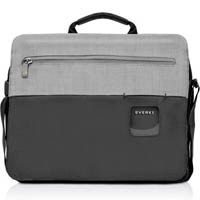 EVERKI CONTEMPRO LAPTOP SHOULDER BAG 14.1 BLACK