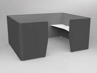 MOTION TEAM SHARED WORKSPACE 2X WORKTOP
