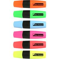 OFFICE NATIONAL BUSINESS HIGHLIGHTERS WALLET 6