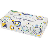 OFFICE NATIONAL FACIAL TISSUES 2 PLY BOX 100