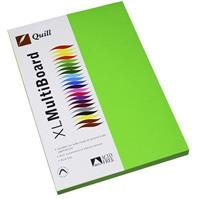 QUILL COLOURED COPY PAPER 80GSM A4 LIME PACK 100 SHEETS