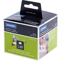 DYMO 99015 LW LABELS DISK 54 X 70MM 1 X ROLL 320 WHITE