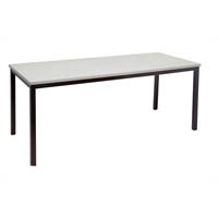 RAPIDLINE STEEL FRAME TABLE 1800 X 900MM GREY