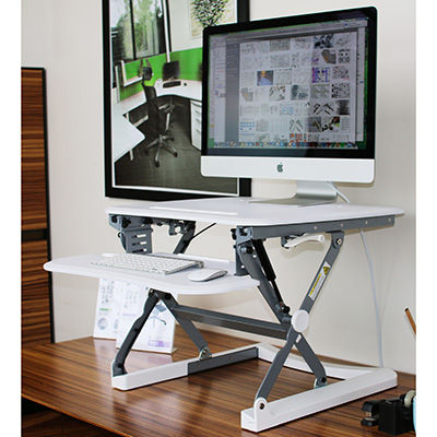Image for SYLEX ARISE DESKALATOR MEDIUM 890W X 580D WHITE from OFFICE NATIONAL CANNING VALE, OFFICE TOOLS OPD & OMNIPLUS