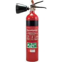 BRADY CO2 DRY CHEMICAL EXTINGUISHERS 2KG