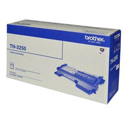 Image for BROTHER TN-2250 MONO LASER TONER CARTRIDGE BLACK from OFFICE NATIONAL CANNING VALE, OFFICE TOOLS OPD & OMNIPLUS