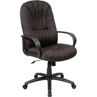 HOUSTON MANAGERIAL CHAIR HIGH BACK BLACK