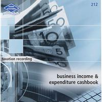 ZIONS TAXATION RECORDING BOOK BUSINESS INCOME AND EXPENDITURE CASHBOOK